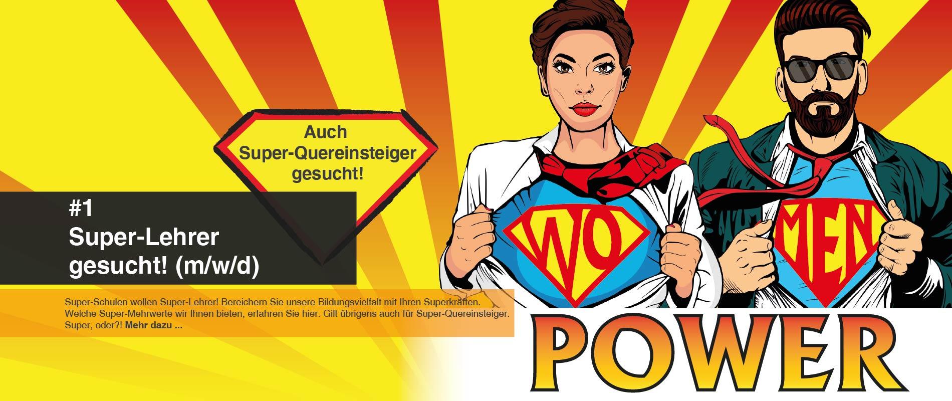 FAWZ-Zukunftslehrer_Header_WOMEN-Power_Super-Lehrer gesucht